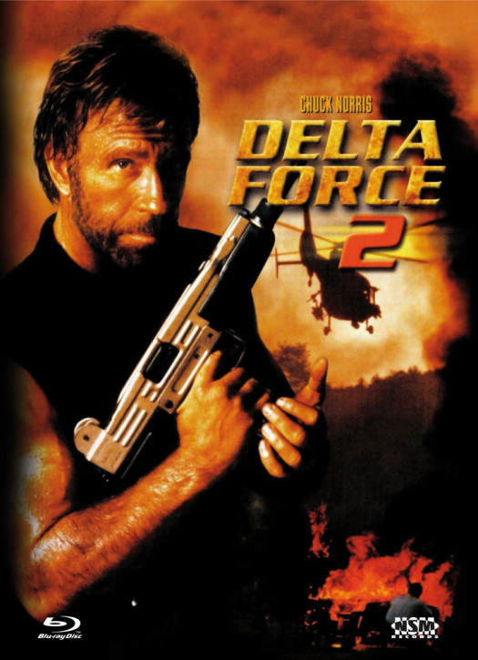 Delta Force 2 - Limited Collector's Edition - Cover B [Bluray+DVD]