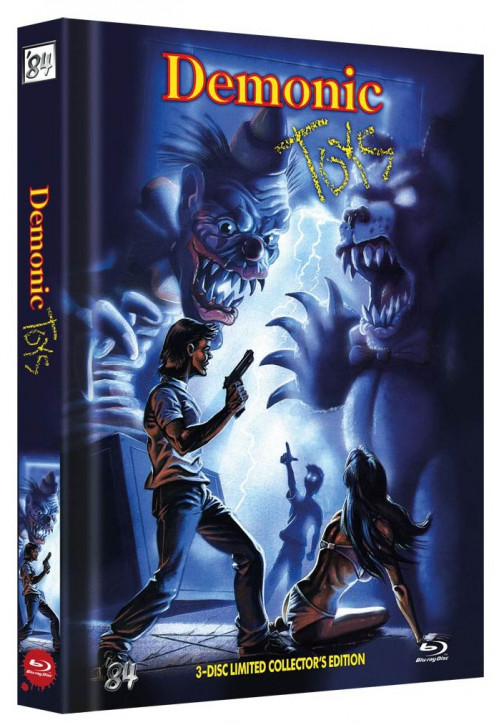 Demonic Toys - Limited Mediabook - Cover C [Blu-ray+DVD]