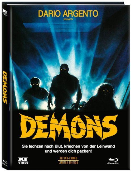 Demons 1 (Dämonen 2) - Limited Edition - Cover A [Blu-ray+DVD]