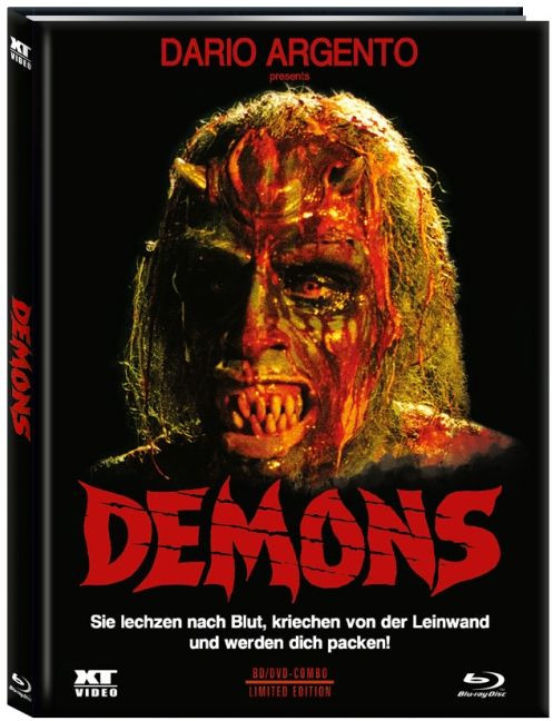 Demons 1 (Dämonen 2) - Limited Edition - Cover B [Blu-ray+DVD]