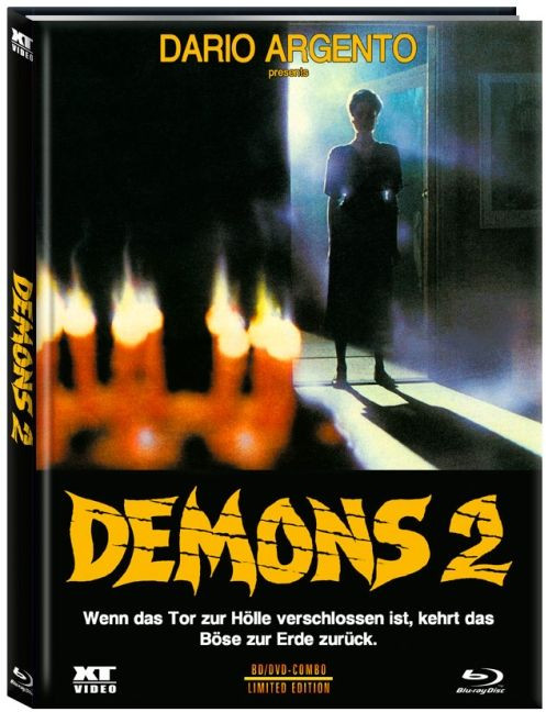 Demons 2 (Dämonen 1) - Limited Edition - Cover A [Blu-ray+DVD]