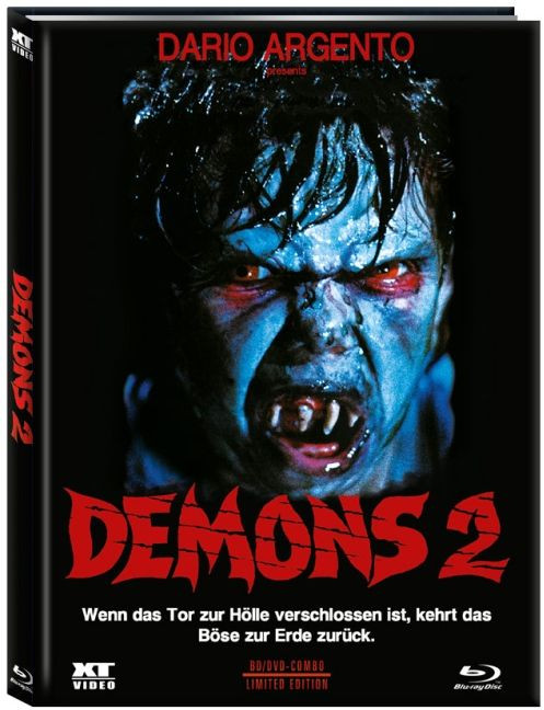 Demons 2 (Dämonen 1) - Limited Edition - Cover B [Blu-ray+DVD]