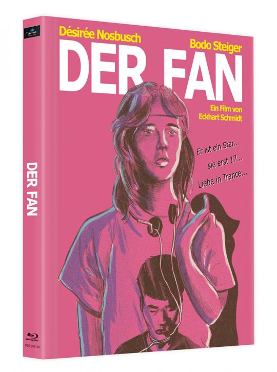 Der Fan - Mediabook - Cover E [Blu-ray]