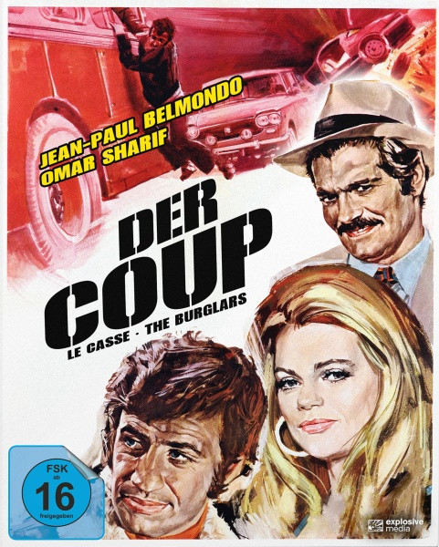 Der Coup (Le Casse) - Mediabook - Cover A [Blu-ray]