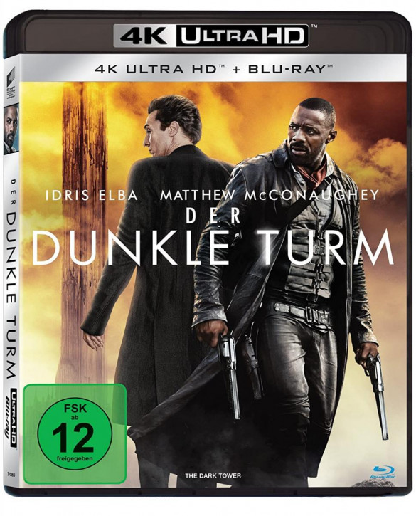 Der dunkle Turm [4K UHD+Blu-ray]