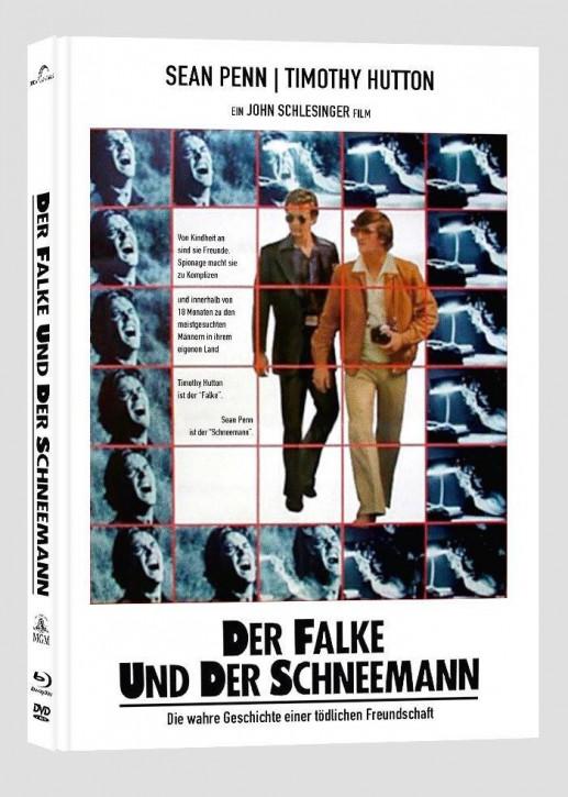 Der Falke und der Schneemann - Collectors Edition Mediabook - Cover B [Blu-ray+DVD]