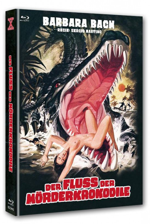 Der Fluss der Mörderkrokodile - Eurocult Collection #045 - Mediabook - Cover A [Blu-ray+DVD]