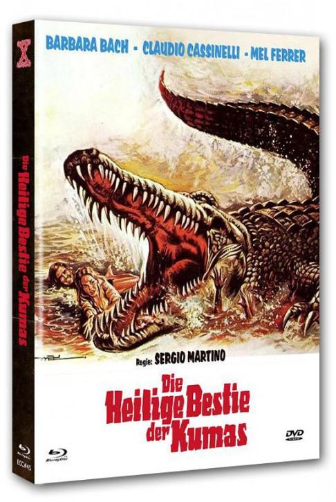 Der Fluss der Mörderkrokodile - Eurocult Collection #045 - Mediabook - Cover B [Blu-ray+DVD]