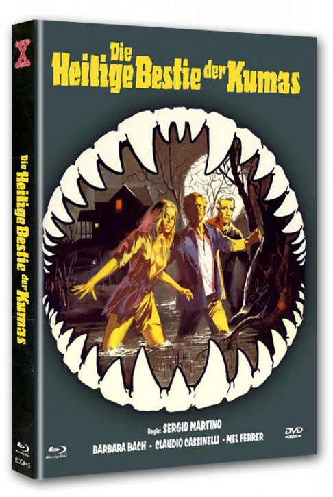 Der Fluss der Mörderkrokodile - Eurocult Collection #045 - Mediabook - Cover D [Blu-ray+DVD]