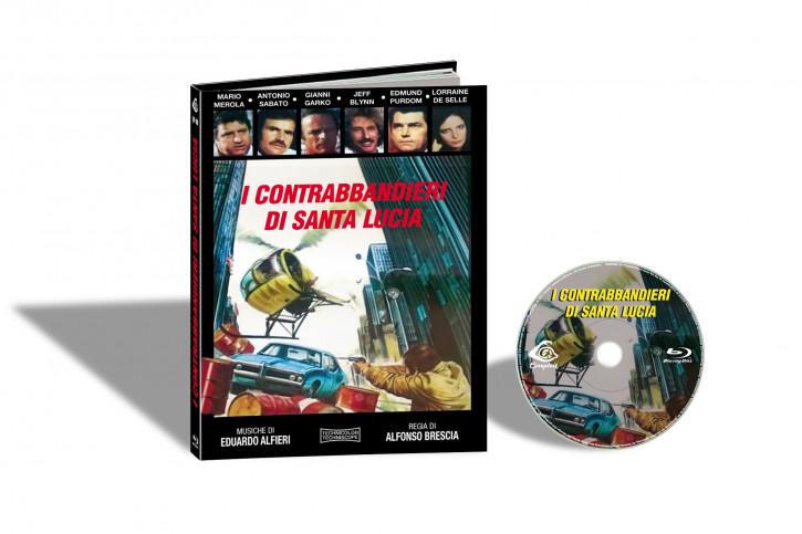 I Contrabbandieri di Santa Lucia (Der Grosse Kampf des Syndikats) - Limited Mediabook Edition - Cover A [Blu-ray]