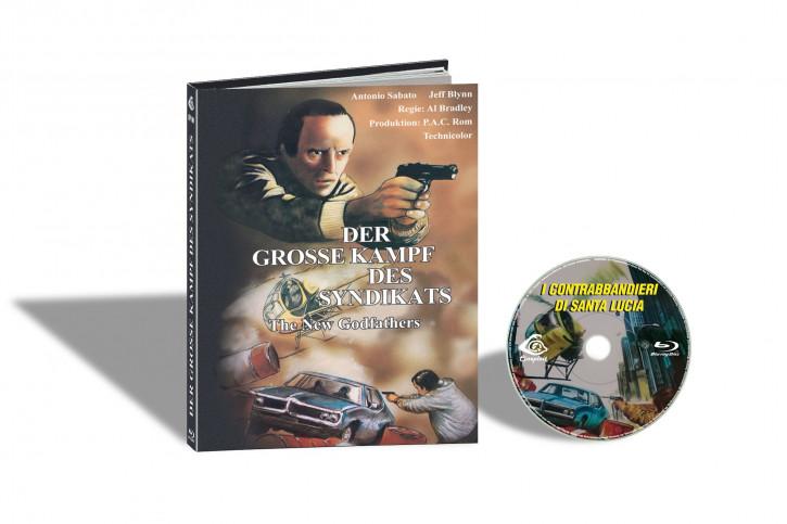I Contrabbandieri di Santa Lucia (Der Grosse Kampf des Syndikats) - Limited Mediabook Edition - Cover B [Blu-ray]