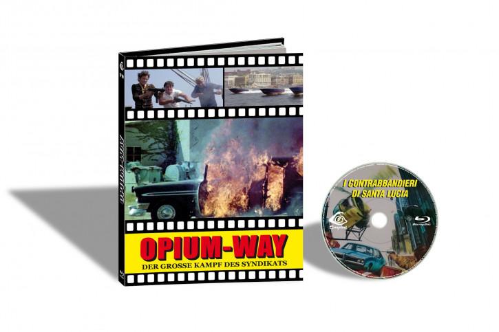 I Contrabbandieri di Santa Lucia (Der Grosse Kampf des Syndikats) - Limited Mediabook Edition - Cover C [Blu-ray]
