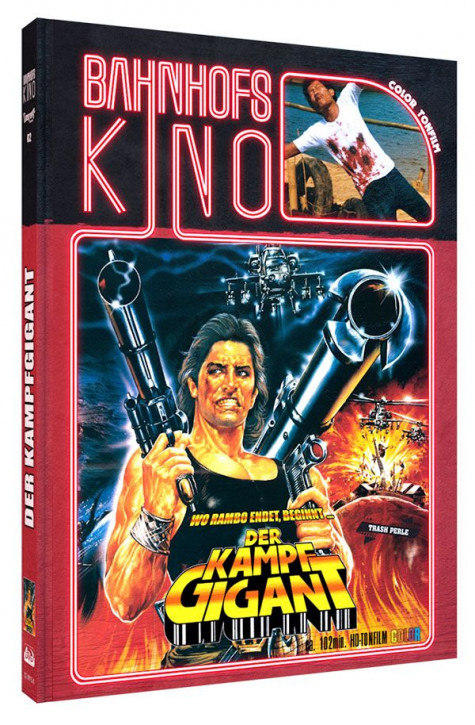 Der Kampfgigant - Limited Mediabook Edition - Cover A [Blu-ray+DVD]