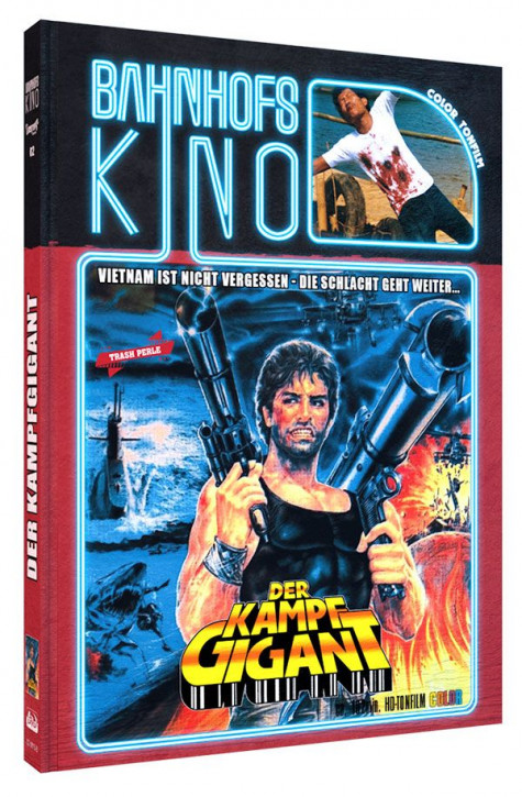 Der Kampfgigant - Limited Mediabook Edition - Cover B [Blu-ray+DVD]