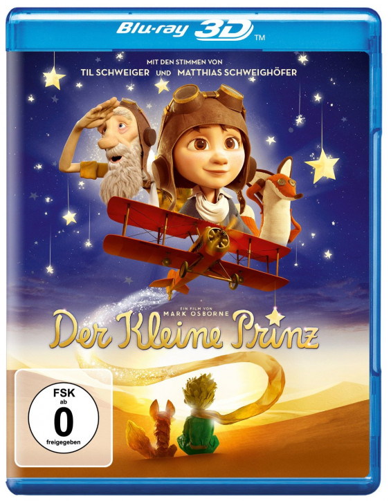 Der kleine Prinz [3D Blu-ray]