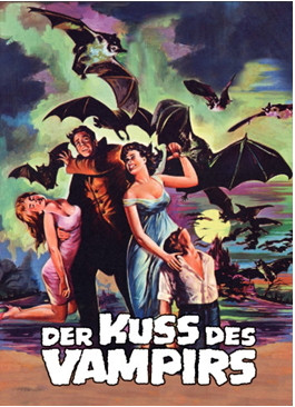 Der Kuss des Vampirs - Limited Collectors Edition #7 - Cover B [Blu-ray+DVD]