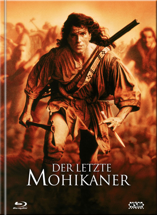Der Letzte Mohikaner - Limited Mediabook Edition - Cover A [Blu-ray+DVD]