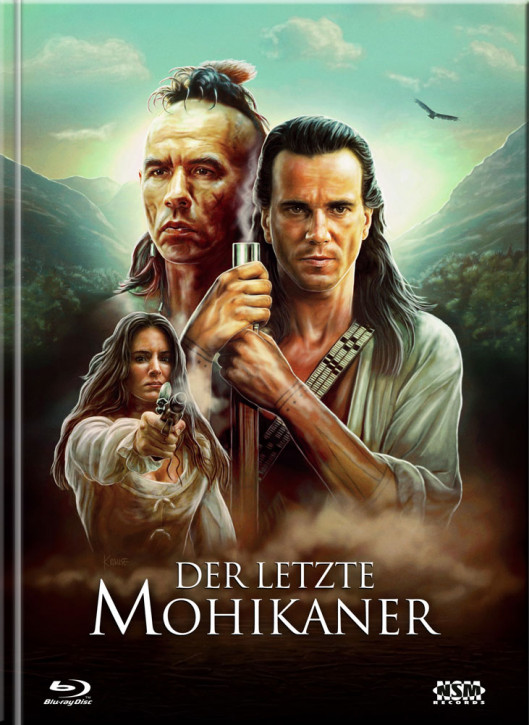 Der Letzte Mohikaner - Limited Mediabook Edition - Cover B [Blu-ray+DVD]
