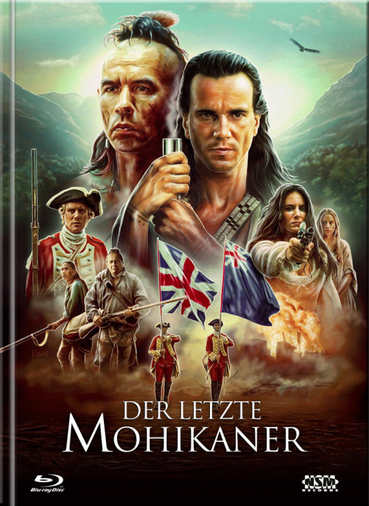Der Letzte Mohikaner - Limited Mediabook Edition - Cover C [Blu-ray+DVD]