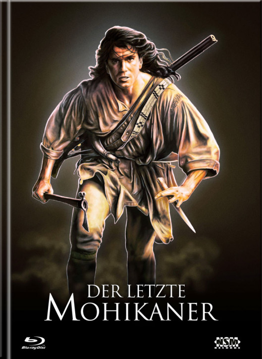 Der Letzte Mohikaner - Limited Mediabook Edition - Cover D [Blu-ray+DVD]