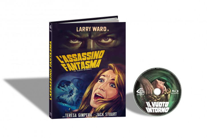 L´ Assassino Fantasma aka Il Vuoto Intorno (Der Phantom-Killer schlägt zu) - Limited Mediabook Edition - Cover A [Blu-ray]