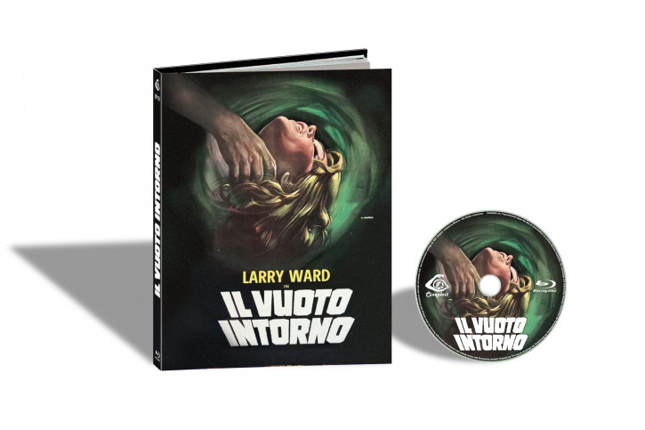 L´ Assassino Fantasma aka Il Vuoto Intorno (Der Phantom-Killer schlägt zu) - Limited Mediabook Edition - Cover B [Blu-ray]