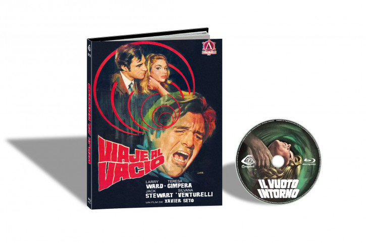 L´ Assassino Fantasma aka Il Vuoto Intorno (Der Phantom-Killer schlägt zu) - Limited Mediabook Edition - Cover C [Blu-ray]