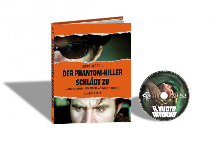 L´ Assassino Fantasma aka Il Vuoto Intorno (Der Phantom-Killer schlägt zu) - Limited Mediabook Edition - Cover D [Blu-ray]