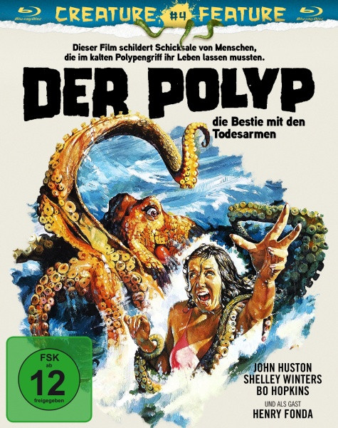 Der Polyp - Creature Feature Nr. 4 [Blu-ray]