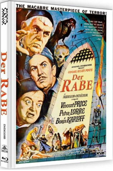 Der Rabe - Limited Collector's Edition - Cover B [Bluray+DVD]