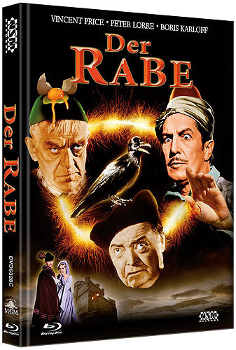 Der Rabe - Limited Collector's Edition - Cover C [Bluray+DVD]