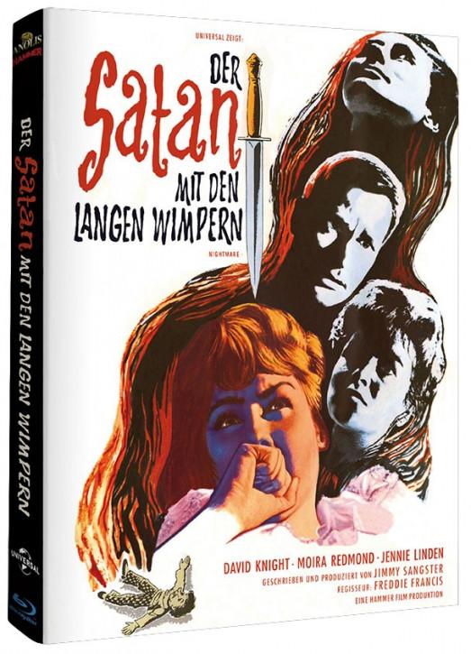 Der Satan mit den langen Wimpern - Hammer Edition Nr. 18 - Cover B [Blu-ray]