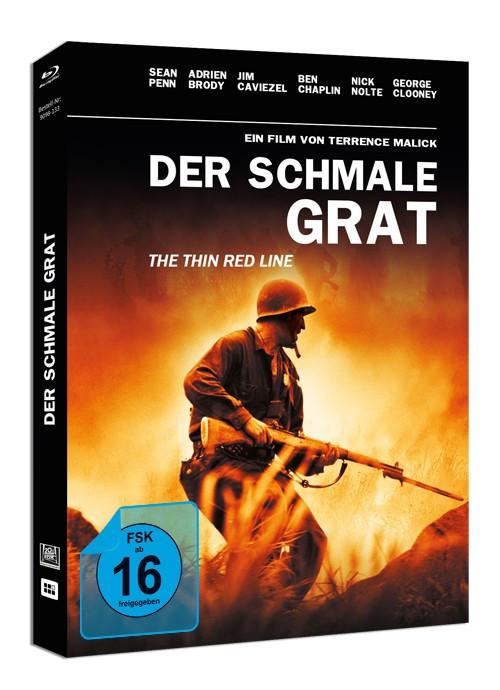Der schmale Grat - Mediabook [Blu-ray]