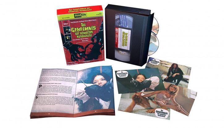 Das Geheimnis der schwarzen Handschuhe - VHS Edition [Blu-ray+DVD]