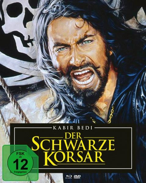 Der schwarze Korsar - Mediabook [Blu-ray+DVD]