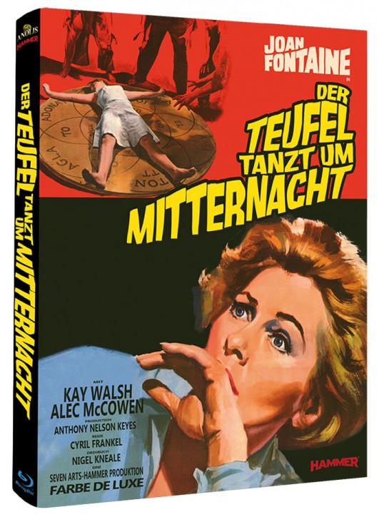 Der Teufel tanzt um Mitternacht - Hammer Edition Nr. 16 - Cover B [Blu-ray]