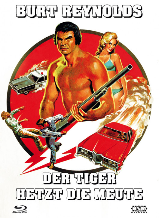 Der Tiger hetzt die Meute - Limited Collector's Edition - Cover D [Blu-ray+DVD]