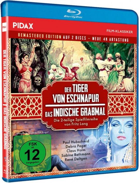 Der Tiger von Eschnapur + Das indische Grabmal [Blu-ray]