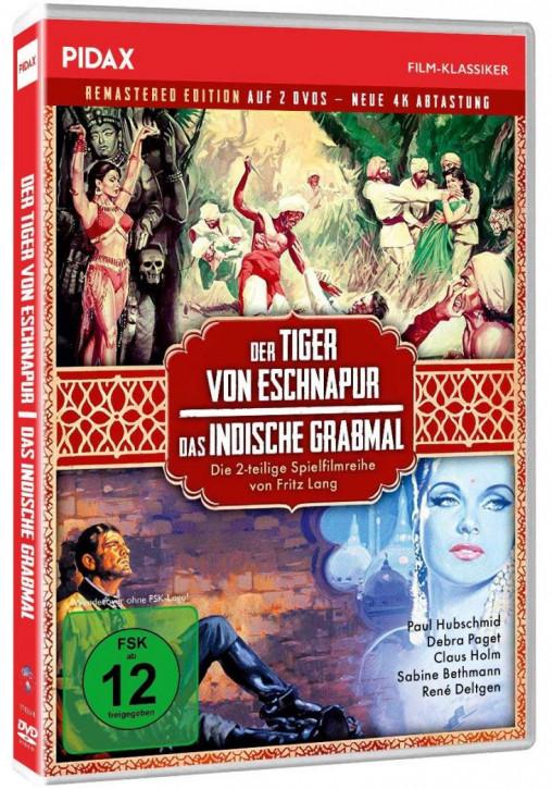 Tiger von Eschnapur + Das indische Grabmal [DVD]