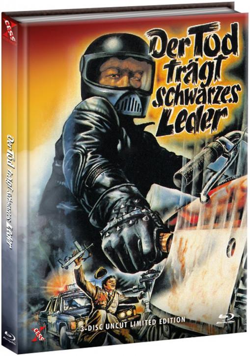 Der Tod trägt schwarzes Leder - Mediabook [Bluray+DVD]