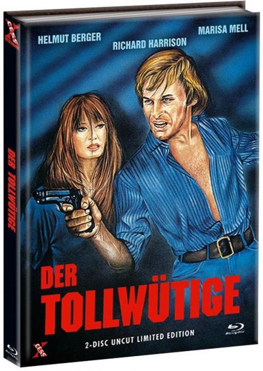 Der Tollwütige - Mediabook - Cover A [Bluray+DVD]