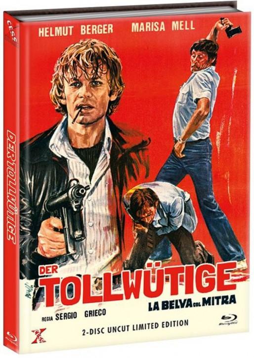 Der Tollwütige - Mediabook - Cover B [Bluray+DVD]