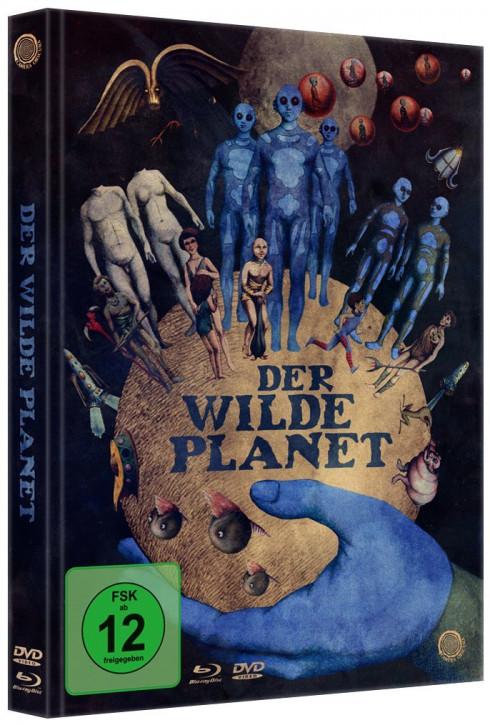 Der wilde Planet - LimitedMediabook Edition [Blu-ray+DVD]
