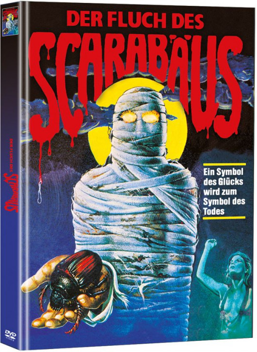Der Fluch des Scarabäus - Limited Mediabook Edition (Super Spooky Stories #68) [DVD]