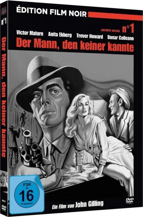 Der Mann, den keiner kannte - Limited Mediabook Edition - [DVD]