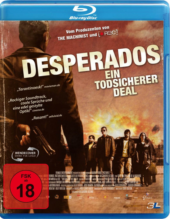 Desperados - Ein todsicherer Deal [Blu-ray]