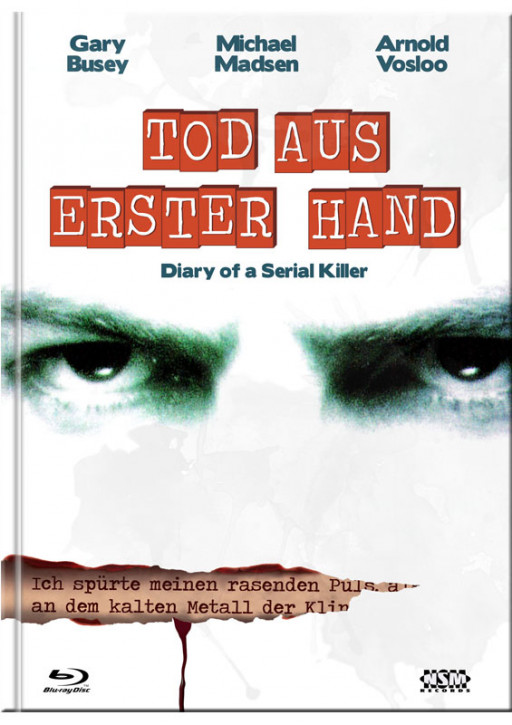 Diary of A Serial Killer - Mediabook - Cover D [Blu-ray+DVD]