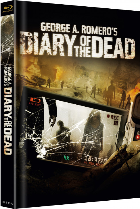Diary of the Dead - Limited Mediabook - Cover A [Blu-ray]