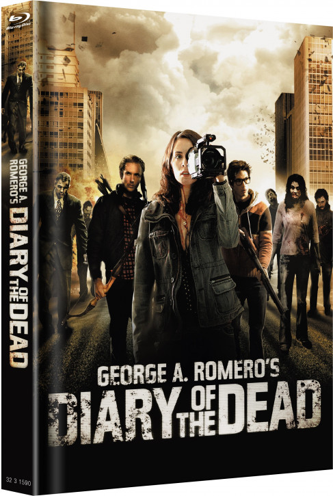 Diary of the Dead - Limited Mediabook - Cover B [Blu-ray]