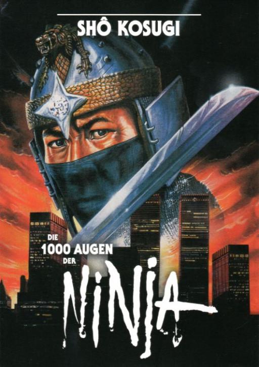 Die 1000 Augen der Ninja [Blu-ray]